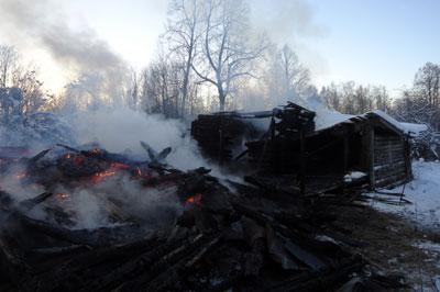 Обстановка с пожарами в Угличском районе на 5 декабря